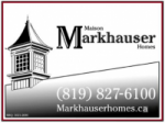 Maison Markhauser Homes