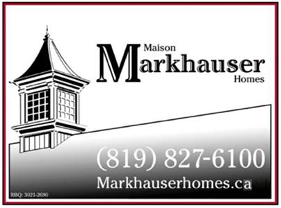 Maison Markhauser Homes
