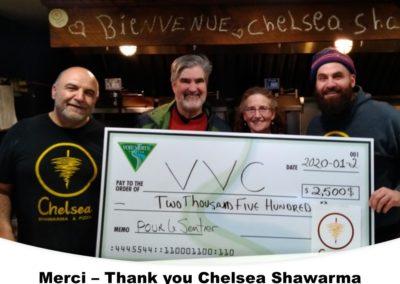 Chelsea Shawarma - Big Cheque